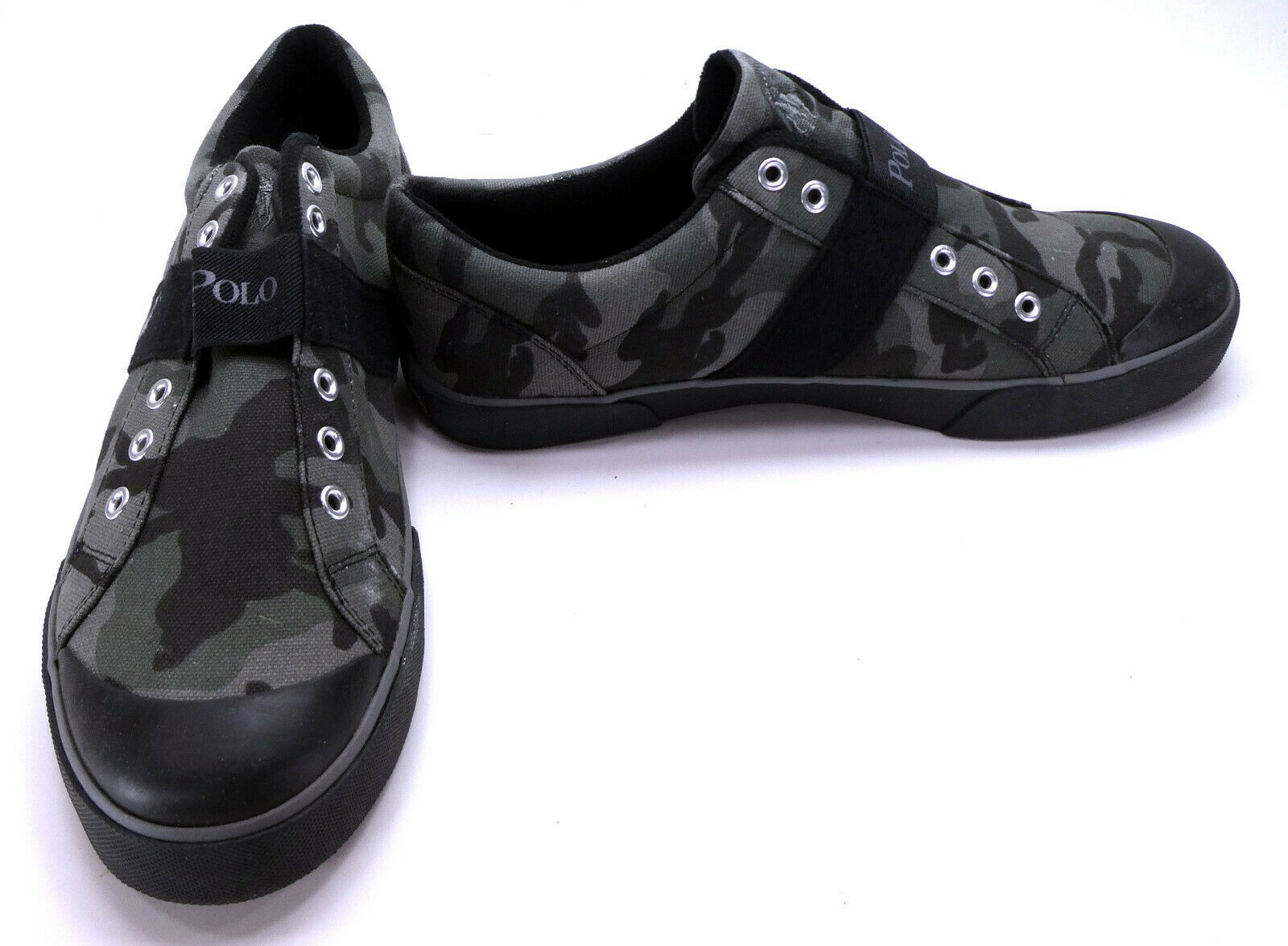 Polo Ralph Lauren shoes Gardener Military Olive Camouflage Sneakers Size 8