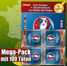 Panini EM Euro 2016 France Megapack 100 Tüten + Album Leeralbum  500 Sticker