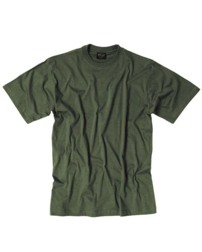 st.grau-oliv Camping Outdoor Military -NEU T-Shirt US Style Co