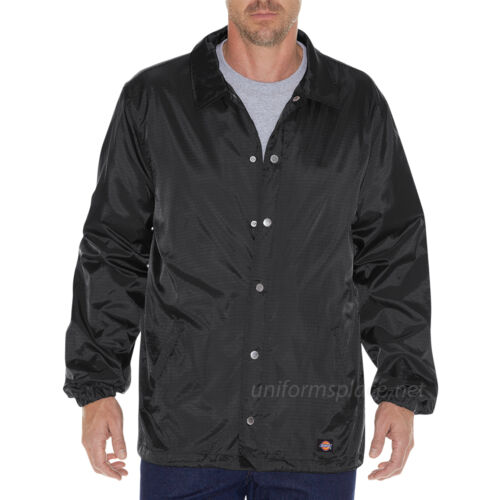 Dickies Jacket Mens Messenger Nylon Jackets Mesh lining TJ700 Water Resistant
