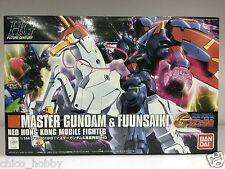 Bandai HG 1/144 GF13-001NH II Master Gundam & Fuunsaiki Neo Hong Kong Fighter JP
