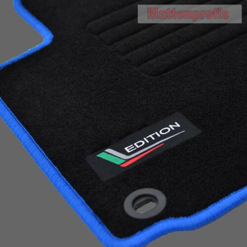 Edition gamuza tapices para skoda octavia ii 1z a partir del año 02//2004-2013 ovalada azul