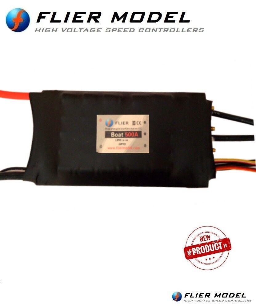 500A Boat ESC 22S LiPo Flier +USB Link for  Electric Hydro-Foil Surftavola Jetsurf  design unico