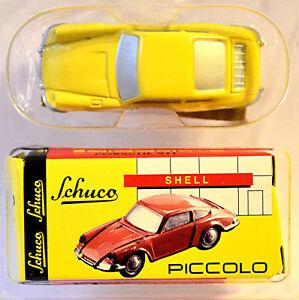 PORSCHE-911-Porsche-Museo-Stoccarda-1-GIALLO-90-SCHUCO-PICCOLO-MODELLO-SPECIALE