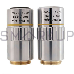 Used-amp-Tested-MITUTOYO-M-Plan-Apo-10X-0-28-Objective-Lens