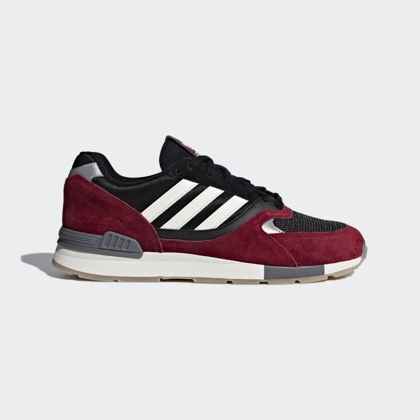 Adidas Originals Quesence Mens shoes Burgundy White Black B37907