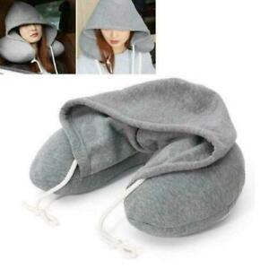 TRAVEL BEANIE PILLOW SOFT RELAXING COMFORTABLE CUSHION NECK BACK JOURNEY SUPPORT