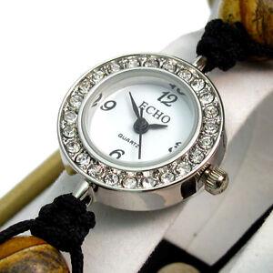 ECHO-Beautiful-Semi-precious-Shamballa-Style-Watch-and-Bracelet-Set-no-6