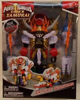 Power Rangers Super Samurai - Gigazord Megazord By Bandai (mint In Sealed Box)