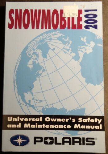 2001 POLARIS SNOWMOBILE UNIVERSAL OWNERSMAINTENANCE MANUAL NEW 938