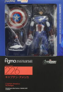 FIGMA 226 CAPTAIN AMERICA MAX FACTORY  A-20045 4545784063279 FREE SHIPPING