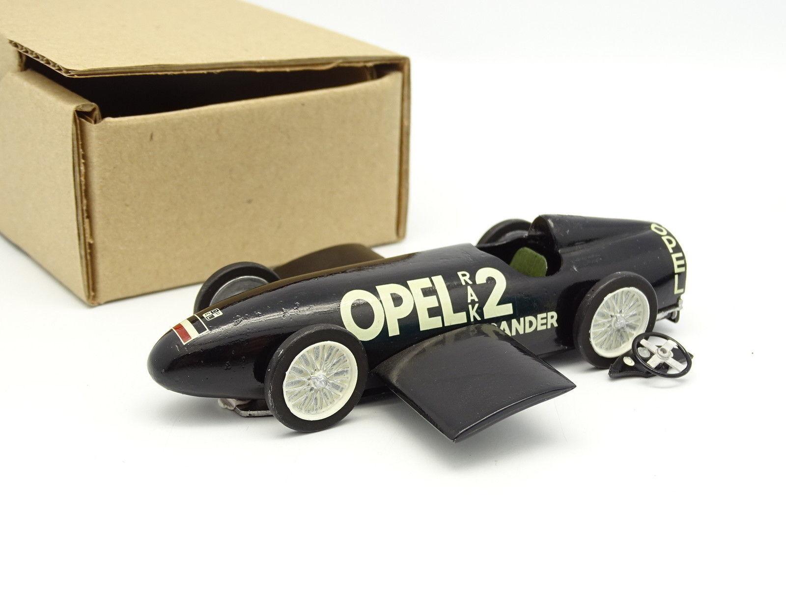 Oeste Modelos kit montado metal 1 43 - Opel Rak 2 Land Velocidad record 1928