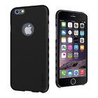 Cygnett iPhone 6 6s AeroGrip PC Hard Case Cover in Black Matte CY1660CPAEG