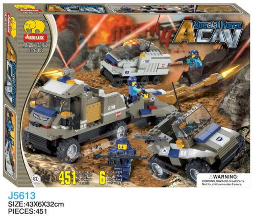 Woma Special Force ACAV les véhicules blindés Briques Set j5613a