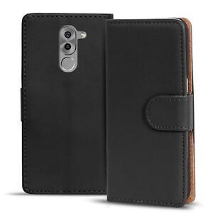 Handy-Hulle-fur-Honor-6X-Plus-Case-Schutz-Tasche-Cover-Basic-Flip-Etui-Bookcase
