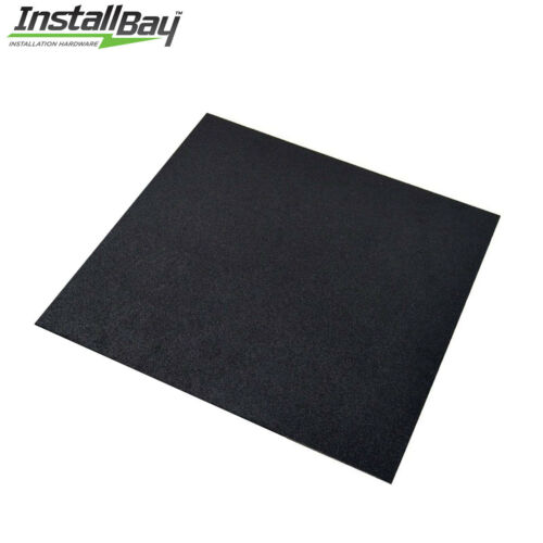 1 Textured ABS Plastic Plastic Sheet Universal 12in x 12in x 3//16inch Black