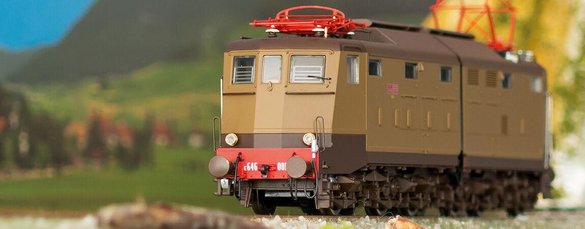 HO - LE Models - ref.20654 - Locomotora eléctrica FS e646.001 Ep.III