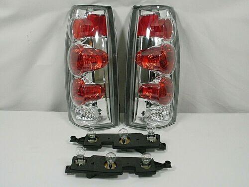 Tail Brake Lights /& Bulbs 88-98 Chevy SILVERADO C1500 C2500 C3500 92-99 SUBURBAN