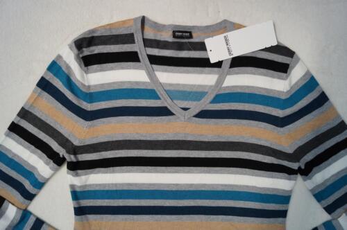 48 gestreift  2 Farben  NEU 40,42,44,46 GERRY WEBER Pullover V-Ausschnitt Gr