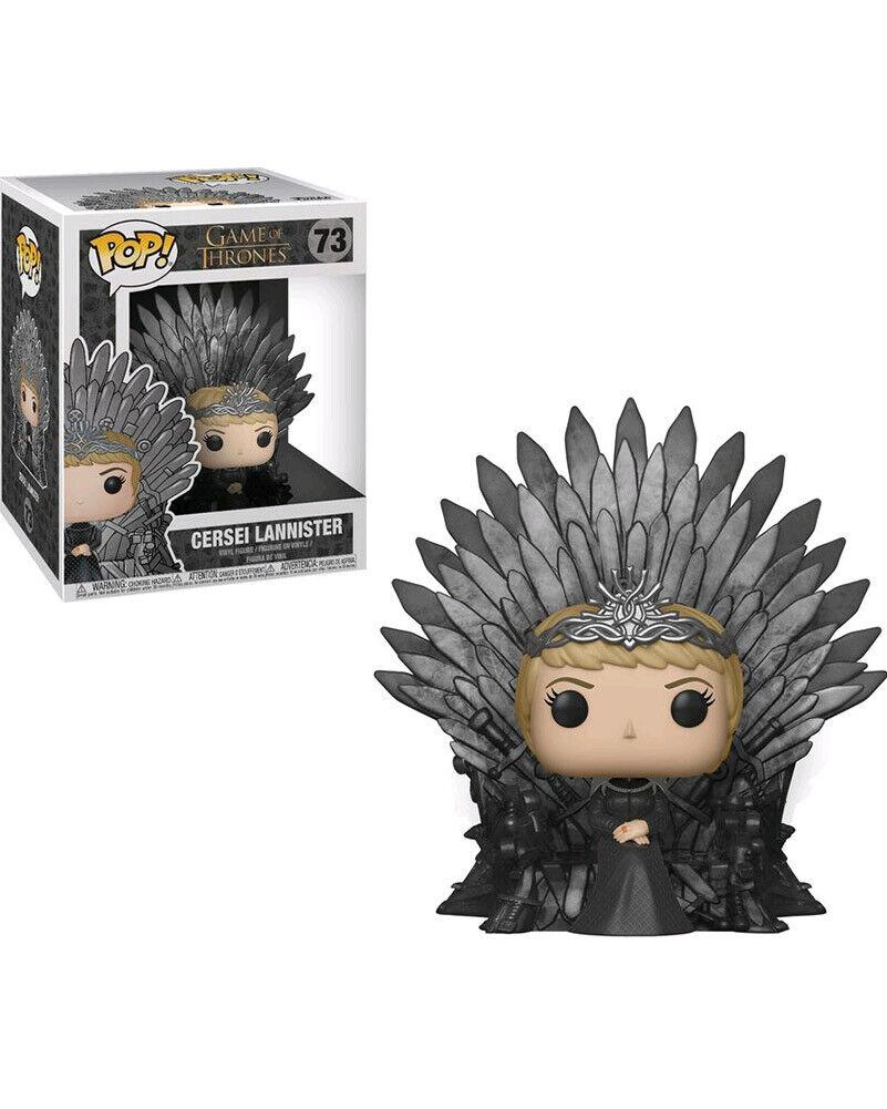 Game Of Thrones Cersei On The Iron Throne Pop Vinyl One Size