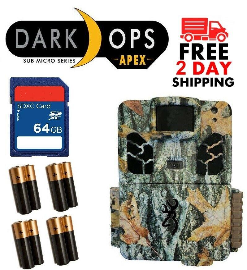 marróning 2019 Dark op HD APEX BTC-6HD-APX 18MP Hd Libre pequeño diámetro 64GB + 8AA Baterías