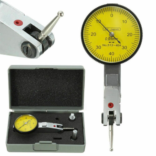 NEW 0.01mm Precision Dial Quick-Set Test Indicator Gauge Scale dovertail 0-40-0