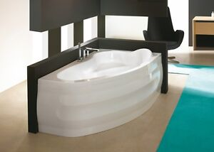 Badewannen Sparsam Badewanne 160x100 Cm Wanne Eckwanne Ohne/mit Schürze Ablauf Acryl Rechts Comfort