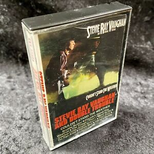 Stevie Ray Vaughan And Double Trouble Couldn't Stand The Weather Cassette Tape