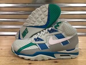 c2e69afc74306 Nike Air Trainer SC High Shoes Bo Jackson Grey Blue Orbit SZ ...