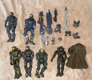 HALO REACH McFarlane Figures  Weapons Accessories LOT Master Chief Noble 6 ODST