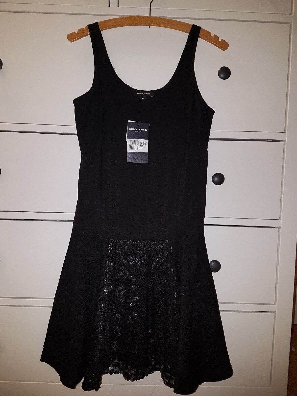 DKNY Jeans Kleid Gr.P0 34 36