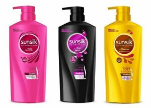 Sunsilk Shampoo Co-Creations Shampoo Collection Full Size |Thick & Long | 650 ML