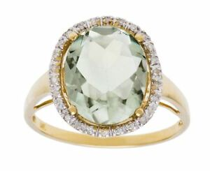 10k-Yellow-Gold-Oval-5-20ct-Green-Amethyst-and-Diamond-Halo-Ring-G-H-I1-I2