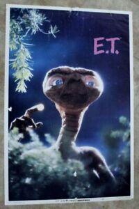 Et Extra Terrestrial 1982 Steven Spielberg Universal Poster 3 90603 G Ebay