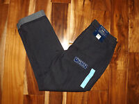 Womens Bandolinoblu Felicia Dark Rinse Anklette Relaxed Stretch Pants 10
