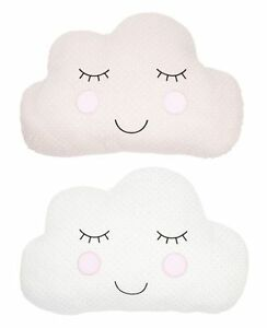 Cloud Shaped Cushion Pillow Soft Toy Baby Nursery ...