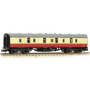 Graham-Farish-374-035A-N-Gauge-BR-Crimson-Cream-Full-Brake-Coach