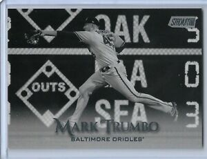 2019-Topps-Stadium-Club-Black-and-White-Parallel-Mark-Trumbo-Baltimore-Orioles