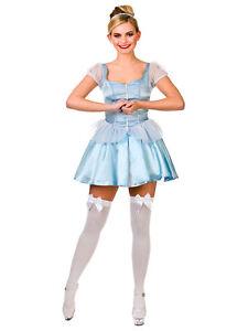 Image is loading Cute-Cinders-Cinderella-Adult-Ladies-Fancy-Dress-Costume-  sc 1 st  eBay & Cute Cinders Cinderella Adult Ladies Fancy Dress Costume Sexy Hen ...