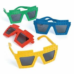 Pack-of-4-Brick-Block-Sunglasses-Party-Bag-Fillers