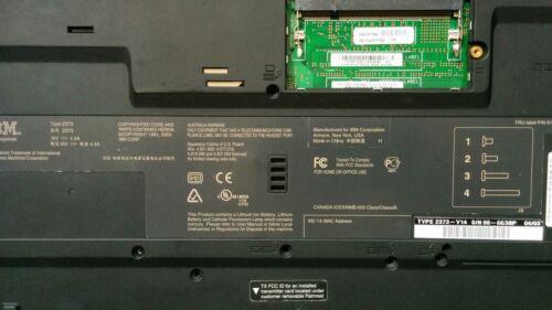 IBM THINKPAD T40 T41 T42 T43 BOTTOM CASE BASE 13N5103 62P4220