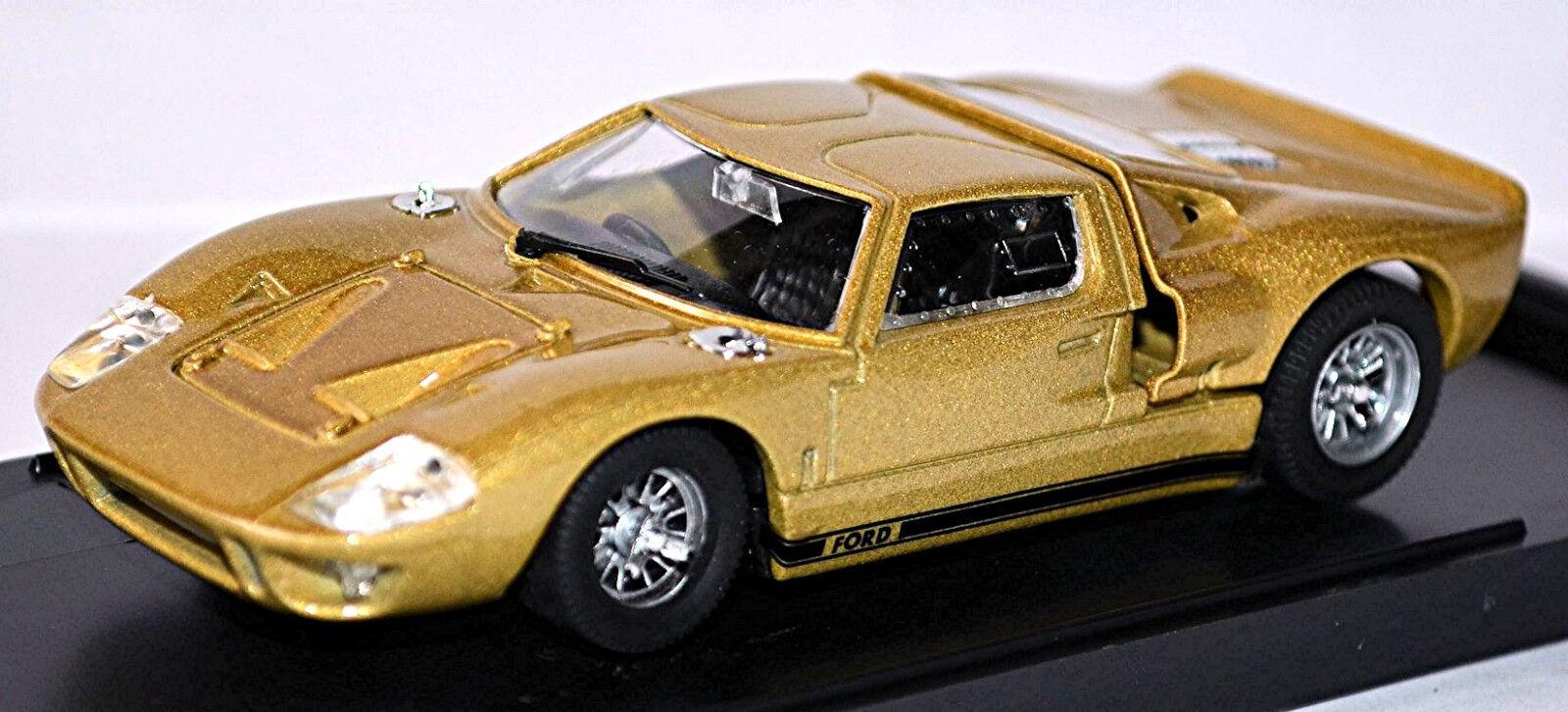 FORD GT 40 STRADALE 1964-68 gold 1 43 Bang