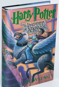 Harry Potter and the Prisoner of Azkaban HARDCOVER BOOK Rowling
