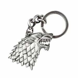 Game-of-Thrones-Stark-Sigil-Metal-Keyring-Keychain-Noble-Collection