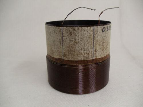 """2.5/"""" SINGLE  3 OHM VOICE COIL Subwoofer Speaker Parts VC031034"""