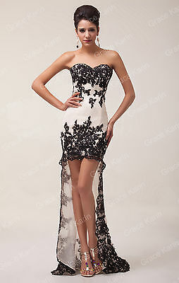 Sexy Masquerade Dress Party LACE Evening Ball Gown Prom bridesmaid Gown Dresses