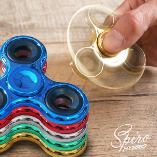 Fidget Spinner Chrome Edition Hand Spiner Finger Kreisel Anti Stress Spielzeug