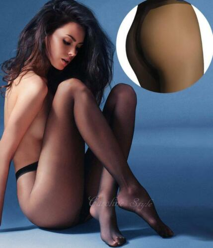 Gabriella Exclusive Quality Pantyhose Sheer Silky Tights T-Band 4 Colours 15 Den