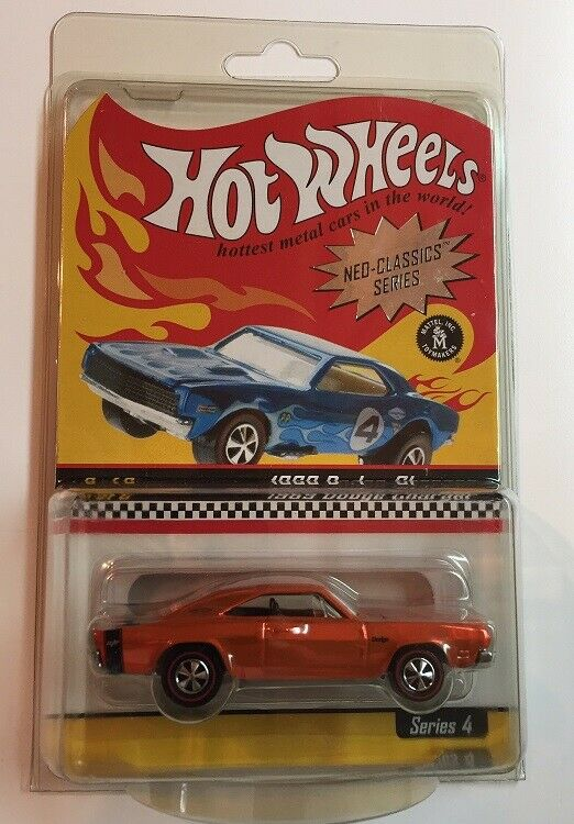 Hot Wheels RLC 2004 NEO CLASSICS SERIES 1969 Dodge Chargeur NEUF