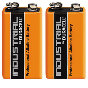 Details about GENUINE 2X DURACELL 9V PP3 INDUSTRIAL PROCELL BATTERIES SMOKE  ALARM LR22 E-BLOC